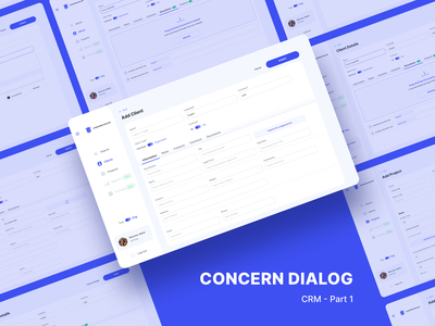 CRM software redesign for a Law Firm ui ux crm software web design