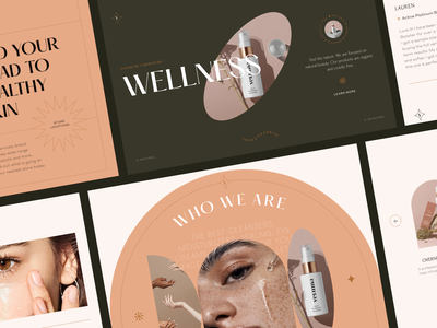 Landing page for cosmetics website web designer interface design interfacedesign ecommerce business ecommerce shop ecommerce design ecommerce self care beauty website beauty sephora cosmetics design cosmetics web design website design webdesign uiux uiuxdesign ui ux