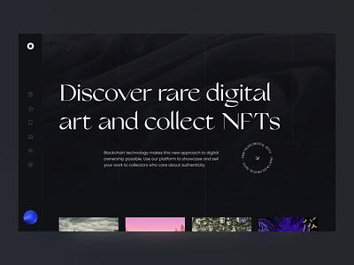 NFT marketplace - animation blockchain non-fungible token graphic design ecommerce interface animation web design motion graphics ui digital art tokens token interfacedesign uiux ui ux uiuxdesign animation paintings marketplace art nft