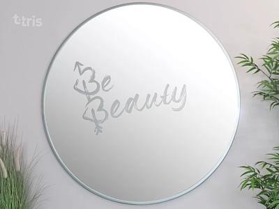 Be Beauty logo typography logo branding vector