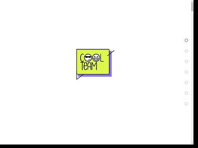 Animated website landing tilda website animation