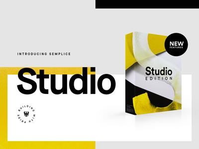 Semplice Studio Launch