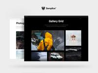 Semplice Gallery Module