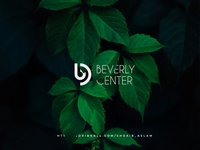 BC Monogram logo for BC ( Beverly Center ) minimal illustration branding design minimalist logo typography vector logo flat brand identity