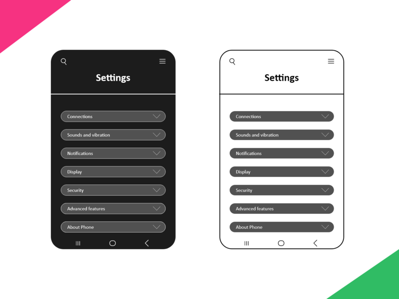 Daily ui challenge #007 Setting Page mobile design settings ui graphic design ui adobe adobexd daily 100 challenge web typography design daily ui