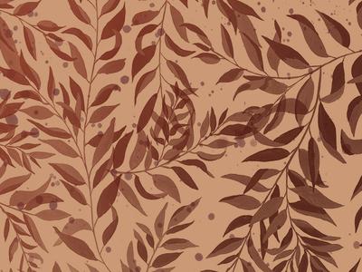 Autumn Leaves Desktop Wallpaper surface design textile design pattern painting flora leaves foliage autumn desktop wallpaper background wallpaper