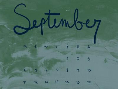 Sep Calendar Desktop Wallpaper surface design textile design pattern painting calendar fall september desktop wallpaper background wallpaper