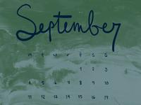 Sep Calendar Desktop Wallpaper