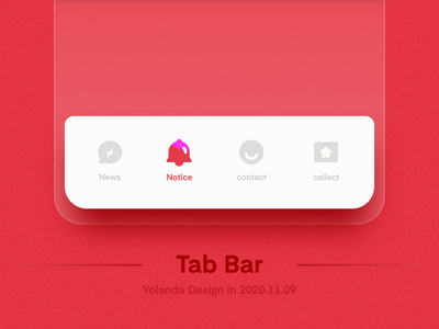 tab bar icon design(gif icon) symbols ae icon graphy animation icon app red logotype peoples contacts news app tab bar ui design icons graphic