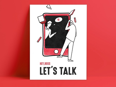 communicate(illustration)