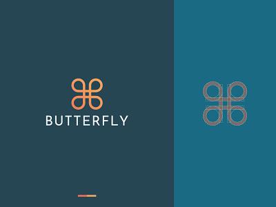 Butterfly logo butterfly logo butterfly logogram elegant design simple logo b letter brand identity logodesigns logo brand design