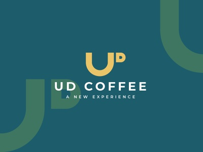 UD Coffee udcoffee udletter d letter u letter coffee coffeelogo brand identity logodesigns brand design