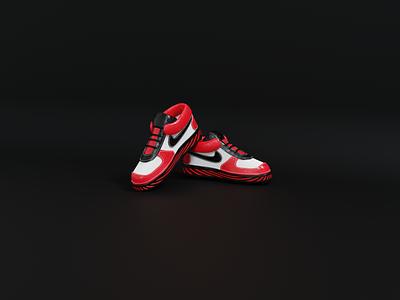 3d shoe illustration product design shoe design nike shoe 3d product product 3d
