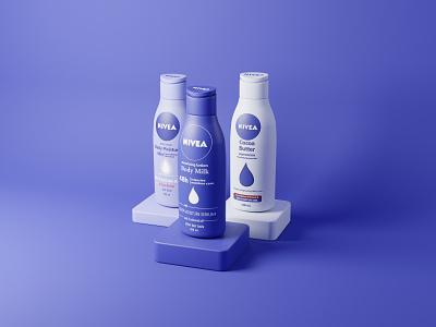 Second render 3d product design 3d product product design product nivea 3d graphic graphics 3d illustration 3d design illustration branding design 3d