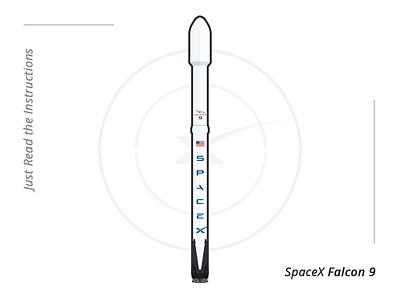 SpaceX Falcon 9 falcon 9 illustration spacex