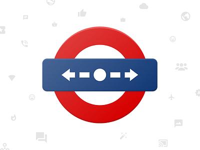 mIndicator Icon Design icon material design