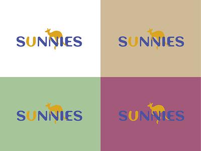 Kangaroo - LOGO DESIGN animal kangaroo sunnies sun dailylogochallenge web logo illustration icon flat logo design minimal design branding