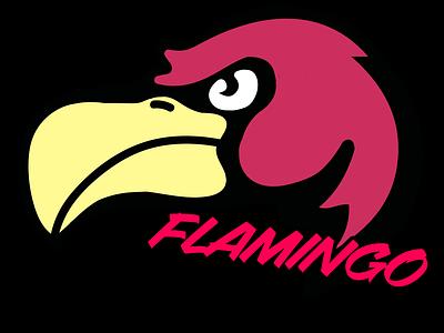 Our Logo (Flamingo Designs) illustration logotype logodesignersclub branding and identity brand identity logo design logodaily logos branding logodesigner brand logodesign icon design logo