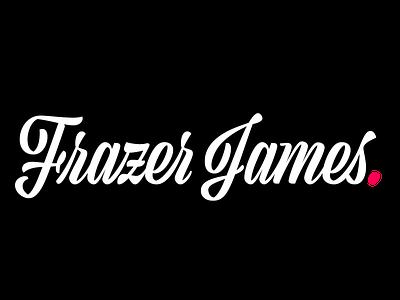 Frazer James - Photographer's Logo/Watermark logo design lettering photologo photo photomark photography watermark typography logos logodesignersclub logodaily logodesign logo branding and identity branding brand identity brand