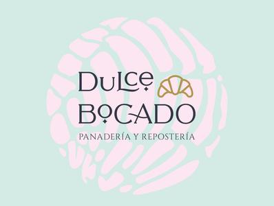 Dulce Bocado Logo pasteleria panadería mexico branding and identity gourmet culture bread logo branding design bakery logo branding bakery