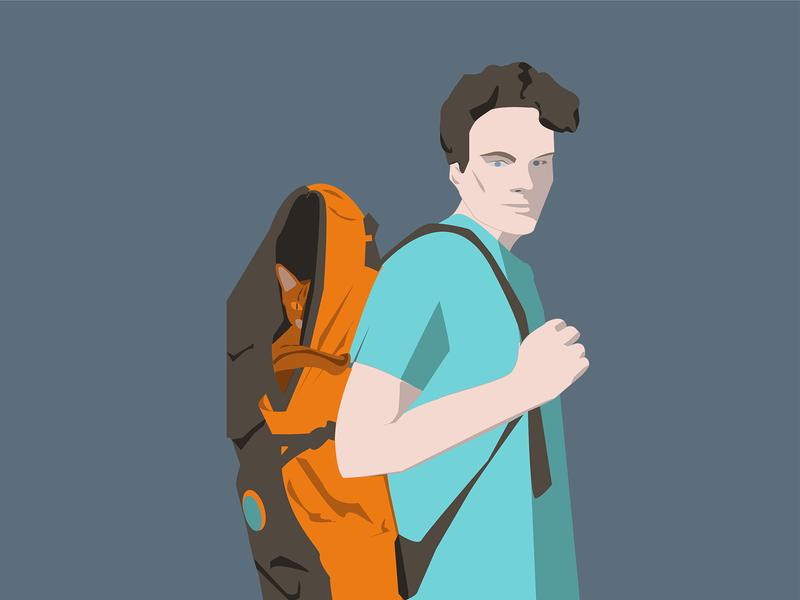 Best Boys illustration vector illustrator flatdesign