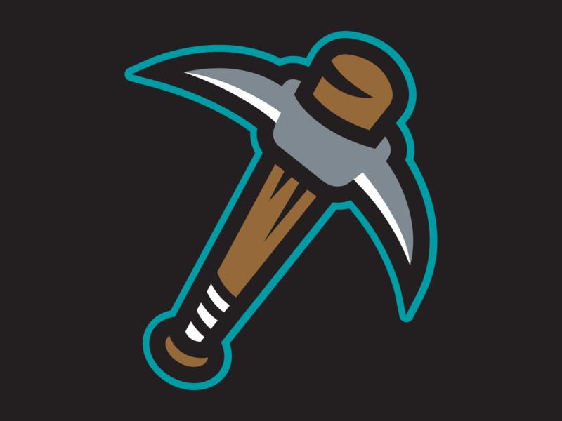 Bat Pick mascot logo logo sports branding baseball design sports logo mascot design illustration sports design branding
