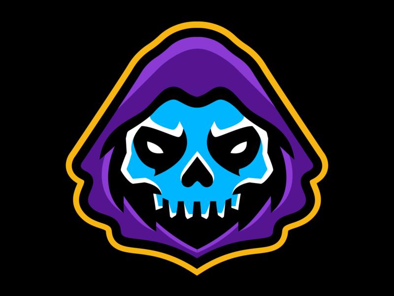 Reaper eSports Logo sports branding logo mascot character esportlogo esport mascot logo sports design sports logo mascot design illustration branding