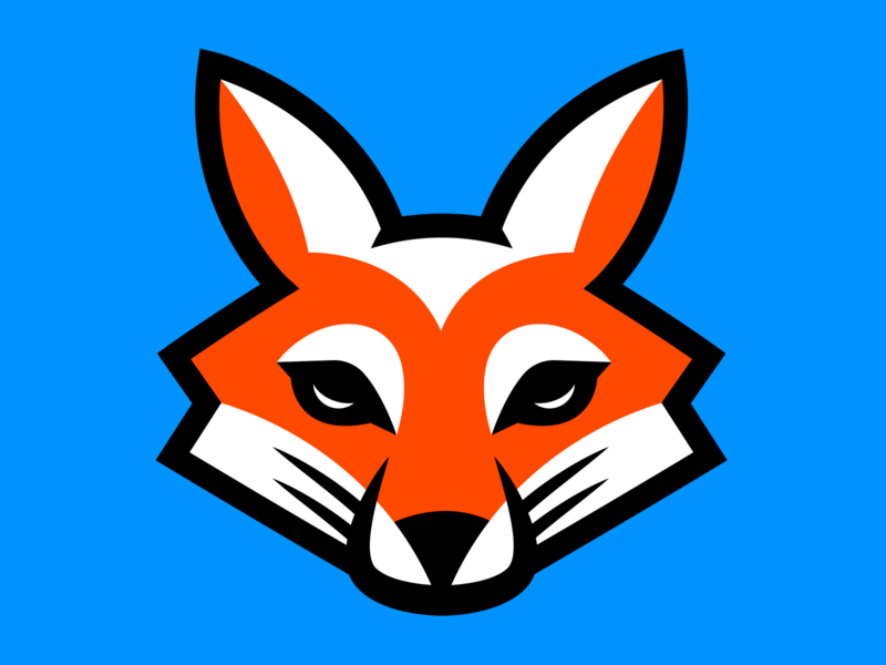 Fox Logo sports logo logo mascot logo mascot character design sports design esportlogo esports esport mascot design illustration branding