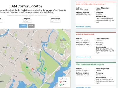 Am Tower Locator