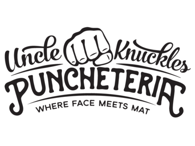 Uncle (work in progress) knuckles punch boxing fight logo vintage boxer gym
