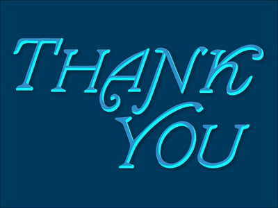 Thank You, Mike! typography vintage hand lettered creative south mike jones thanks