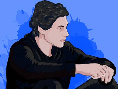 Boy illustration graphicdesign