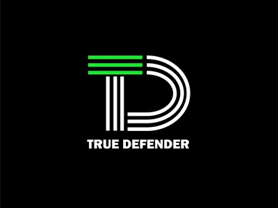 True Defender logomarca logomark designs logotypo logotype defend d logo followforfollow follow me typography vector branding design illustration company logo logo logo logoconcept logoconcept logo logodesign