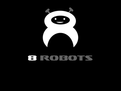 8Robots logomark illustration design branding typography logotype company logo logo logo logoconcept logoconcept logo logodesign