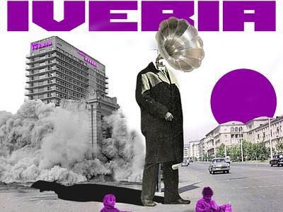 Iveria retrocollage retro vintagecollage vintage posterdesign collageart collage poster