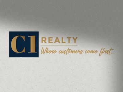 C1 Realty Logo Design logo design branding
