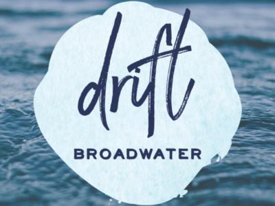 Drift Broadwater Logo Design logo design branding