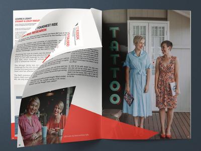 MS Research Annual Impact Report annual report print design design