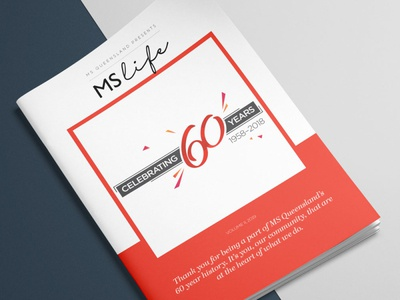 MS Life Magazine Cover magazine design magazine cover annual report print design design