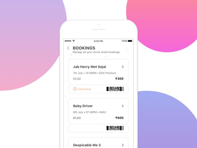 Movie Theatre - Manage ticket bookings by Harish Shivaraman