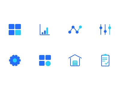 Restaurant Backend Dashboard Icons dashboard illustration minimal backend dashboard icons icon