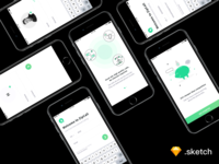 Voice Call App Onboarding Screens [ FREEBIE ]