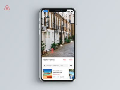 Airbnb AR Experiment online hotel rooms booking travel airbnb airbnb design ui ux