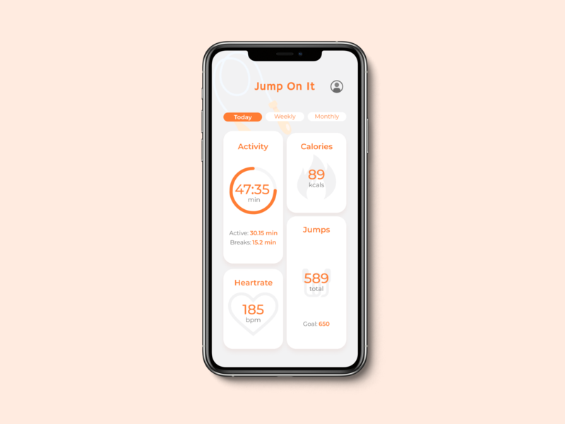 Daily UI 041 - Workout Tracker illustration ui design dailyuichallenge daily ui app mobile app design dailyui ui mobile