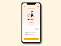 Daily UI 062 - Workout of the day illustrator procreate dailyuichallenge app mobile app illustration ui design dailyui mobile