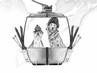 Ralph Lauren Winter Sale Illustration