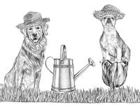 Illustration for Ralph Lauren's Spring Sale