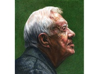 Jimmy Carter in ICON10 Detroit Gallery Show
