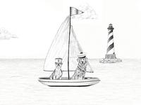 Ralph Lauren Summer Sale Illustration