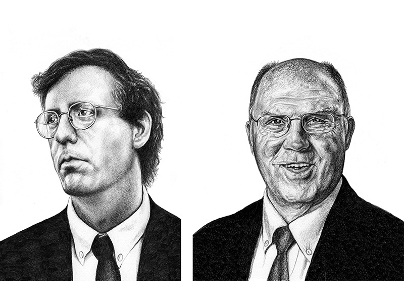 Portraits for BuzzFeed News editorial buzzfeed portraits drawing graphite illustration